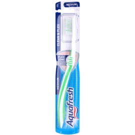Aquafresh Clean & Flex fogkefe közepes