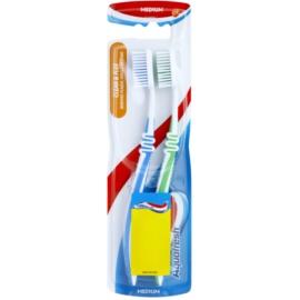 Aquafresh Clean & Flex zobne ščetke medium 2 ks