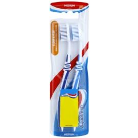 Aquafresh Clean & Flex зубні щіточки medium 2 шт