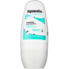 Aquaselin Sensitive women golyós dezodor roll-on az érzékeny bőrre  50 ml