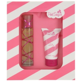Aquolina Pink Sugar ajándékszett I.  Eau de Toilette 50 ml + tusfürdő gél 50 ml