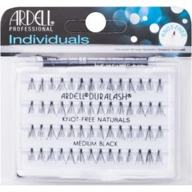 Ardell Individuals пучкові накладні  вії без вузликів Medium Black