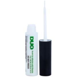 Ardell Duo műszempilla ragasztó ecsettel (White/Clear) 5 g