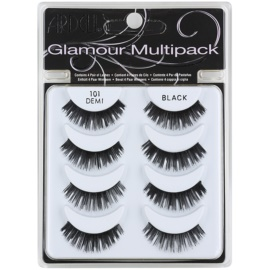 Ardell Glamour Fake Lashes, Multipack Shade 101 (Demi Black) 3 cm
