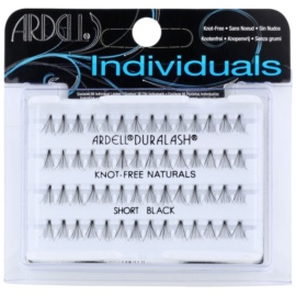Ardell Individuals faux-cils individuels sans nœud (Short Black)