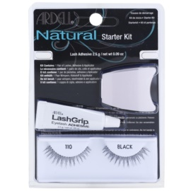 Ardell Natural Stick-On Eyelashes With Glue 110 Black