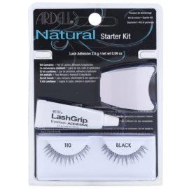 Ardell Natural lepilne trepalnice z lepilom 110 Black