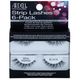 Ardell Strip Lashes nalepovací řasy multipack Demi Wispies Black