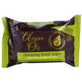 Argan Oil Hydrating Nourishing Cleansing čistilni robčki z arganovim oljem  30 kos