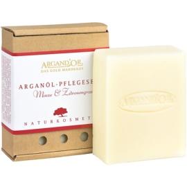 Argand'Or Care arganové mydlo s vôňou mäty a citrónovej trávy  110 ml