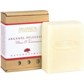 Argand'Or Care Arganseife mit dem Duft von Minze und Zitronengras  110 ml