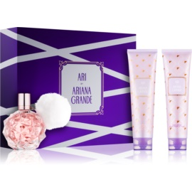 Ariana Grande Ari by Ariana Grande darilni set III.  parfum 100 ml + losjon za telo 100 ml + gel za prhanje in kopel 100 ml