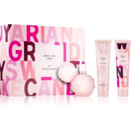 Ariana Grande Sweet Like Candy Geschenkset III.  Eau de Parfum 100 ml + Körpercreme 100 ml + Dusch - und Badegel 100 ml