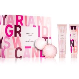 Ariana Grande Sweet Like Candy darilni set III.  parfum 100 ml + krema za telo 100 ml + gel za prhanje in kopel 100 ml