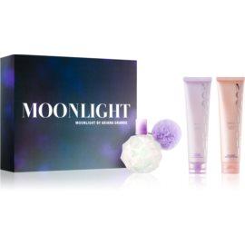 Ariana Grande Moonlight zestaw upominkowy I.  woda perfumowana 100 ml + żel pod prysznic i do kąpieli 100 ml
