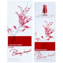 Armand Basi In Red Blooming Bouquet Eau de Toilette für Damen 100 ml