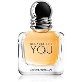 Armani Emporio Because It's You parfumska voda za ženske 30 ml