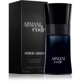 Armani Code toaletná voda pre mužov 50 ml