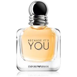 Armani Emporio Because It's You woda perfumowana dla kobiet 50 ml