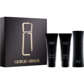 Armani Code poklon set V.  toaletna voda 75 ml + gel za tuširanje 75 ml + balzam poslije brijanja 75 ml