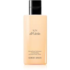 Armani Sun di  Gioia mleczko do ciała dla kobiet 200 ml