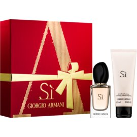 Armani Sí Gift Set VI.  Eau De Parfum 30 ml + Body Milk 75 ml
