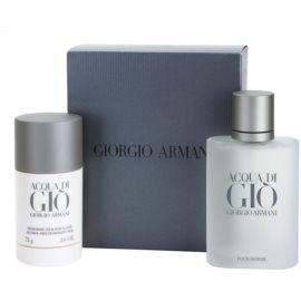 Armani Acqua di Gio Pour Homme darčeková sada V. toaletná voda 100 ml + deo-stick 75 g