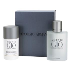 Armani Acqua di Gio Pour Homme zestaw upominkowy V.  woda toaletowa 100 ml + dezodorant w sztyfcie 75 g