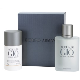 Armani Acqua di Gio Pour Homme darilni set V. toaletna voda 100 ml + Deo-Stick 75 g