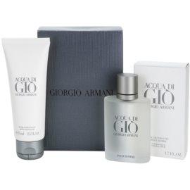Armani Acqua di Gio Pour Homme Gift Set XV.  Eau De Toilette 50 ml + Aftershave Balm 75 ml