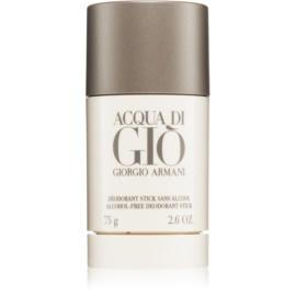 Armani Acqua di Gio Pour Homme stift dezodor férfiaknak 75 ml