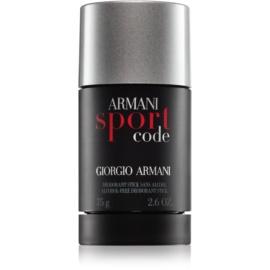 Armani Code Sport Deo-Stick für Herren 75 ml