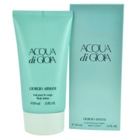 Armani Acqua di Gioia testápoló tej nőknek 150 ml