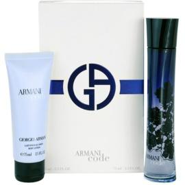 Armani Code Woman Geschenkset XI. Eau de Parfum 75 ml + Körperlotion 75 ml