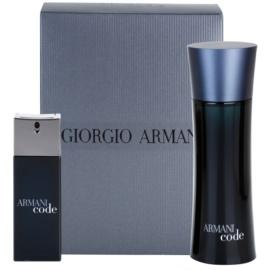 Armani Code zestaw upominkowy IX. woda toaletowa 75 ml + woda toaletowa 20 ml