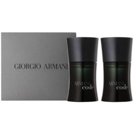 Armani Code set cadou ХІ  Apa de Toaleta 2 x 30 ml