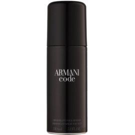 Armani Code deospray pro muže 150 ml
