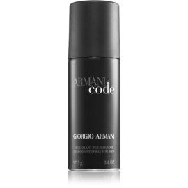 Armani Code deospray pro muže 97,5 g