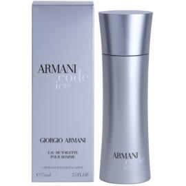 Armani Code Ice toaletní voda pro muže 75 ml