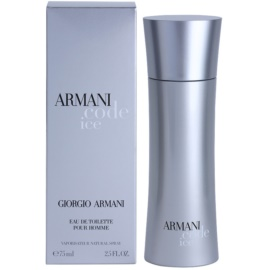 Armani Code Ice Eau de Toilette para homens 75 ml