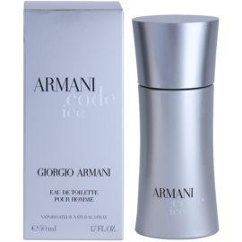 Armani Code Ice Eau de Toilette para homens 50 ml