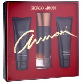 Armani Code Profumo zestaw upominkowy I.  perfumy 60 ml + żel pod prysznic 75 ml + balsam po goleniu 75 ml