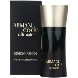 Armani Code Ultimate Eau de Toilette pentru barbati 50 ml