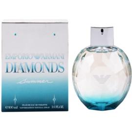 Armani Emporio Diamonds Summer Fraiche 2013 Eau de Toilette pentru femei 100 ml