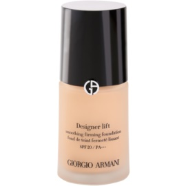 Armani Designer Lift liftinges és feszesítő make-up árnyalat 5 Warm Beige SPF 20  30 ml