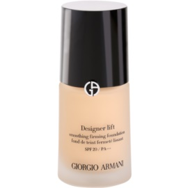 Armani Designer Lift liftinges és feszesítő make-up árnyalat 4 SPF 20  30 ml