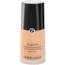 Armani Designer Lift liftinges és feszesítő make-up árnyalat 5,5 SPF 20  30 ml