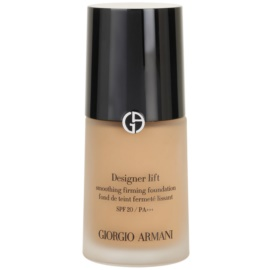 Armani Designer Lift liftinges és feszesítő make-up árnyalat 8 Caramel SPF 20  30 ml