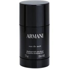 Armani Eau De Nuit stift dezodor férfiaknak 75 g