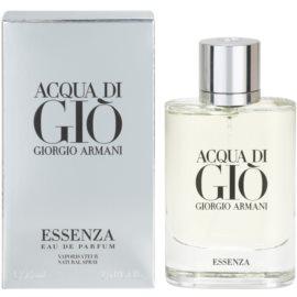 Armani Acqua di Gio Essenza eau de parfum férfiaknak 75 ml